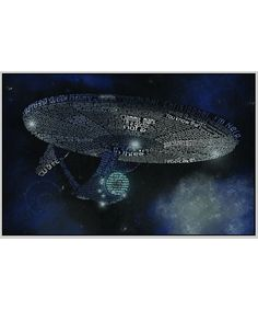 Star Trek (2009) Typography Print