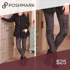 Girls Best Friend Leggings Girls best friend leggings. 92% polyester. 8% spandex. Fits size 2-12. Infinity Raine Pants Leggings