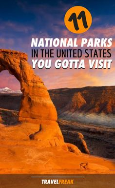 11 US National Parks
