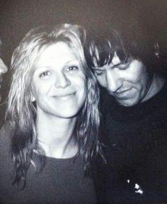 Courtney Love y Elliott Smith