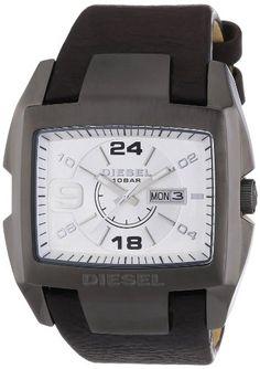 Diesel Herren-Armbanduhr Bugout Analog Quarz Leder DZ1216 - http://uhr.haus/diesel/diesel-herren-armbanduhr-bugout-analog-quarz-3
