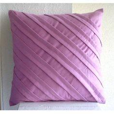 Designer Lavender Pink Pillows Cover, Textured Pintucks S... https://www.amazon.com/dp/B005C1C1OK/ref=cm_sw_r_pi_dp_x_vVPrybNAAK7XN