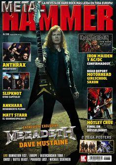 METAL HAMMER 338. #Megadeth!