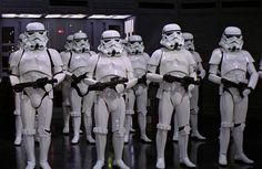 Ever wondered what Stormtroopers really look like underneath those helmets? Well, wonder no more...