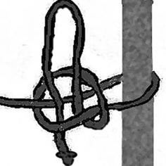 Whenever a horse is tethered, it is important to use a quick release knot so that if the horse pulls back, or gets caught up, the knot can be quickly undone.