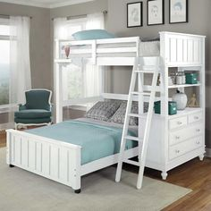 Lake House Twin Loft Bed - Bunk Beds & Loft Beds at Hayneedle
