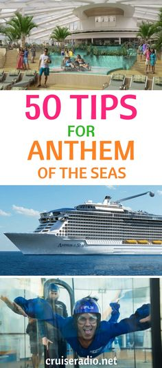 A list of tips and tricks for one of the largest cruise ships in the world - Royal Caribbean& Anthem of the Seas. Learn some tips that you might not know. Cruise Tips Royal Caribbean, Royal Cruise, Royal Caribbean Ships, Caribbean Honeymoon, Cruise Travel, Cruise Vacation, Italy Vacation, Family Cruise, Cruise Florida