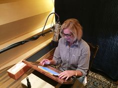 I'm in the studio this week recording the audiobook for In This Together, can't wait for all of you to hear my story www.annromneybook.com