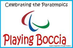 Celebrating the Paralympics: Playing Boccia