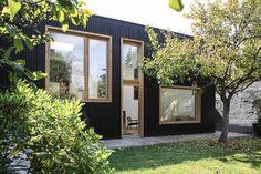 Wonderful 360° : Une Extension, Tout Naturellement, à Nantes ! Wood FacadeWindow  FramesHouse ...