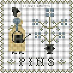 Original primitive cross stitch patterns by BluebirdNeedleworks Free Charts, Free Cross Stitch Charts, Cross Stitch Freebies, Cross Stitch Baby, Cross Stitch Flowers, Counted Cross Stitch Patterns, Cross Stitch Embroidery, Cross Stitch Letters, Cross Stitch Samplers