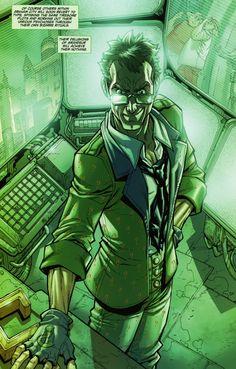 Riddler: The Riddler in Arkham City