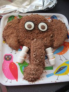 Woolly mammoth cake