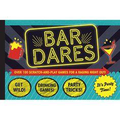 Bar Dares - Scratch & Play Games