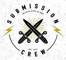 «Jiu-jitsu. Submission crew.» de bjjsom