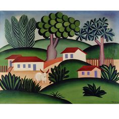 Pau Brasil 1924 – 1928 - Tarsila do Amaral