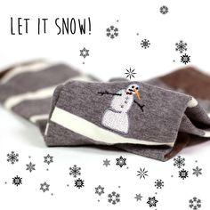 Snowman socks! #soxfords #style