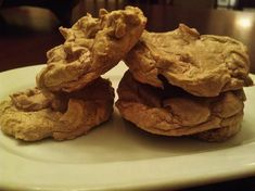 South Beach Diet Friendly Chocolate Meringue Cookies from Food.com:   								These light airy little puffs of chocolate kept me from straying from Phase 1!  Delicious!