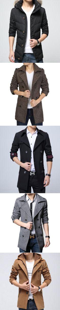 Mens Winter Fashion Lineup. Coats , Blazers, Jackets and Hoodie