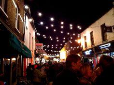 Christmas Market, Church Street, Twickenham (Saint Mary's University College area)