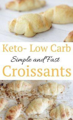 Keto Low Carb Fathead Dough Croissants