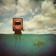 Saatchi Online Artist: Michael Vincent Manalo; Photomanipulation, 2011, Digital A Requiem for Self-Destruction, Edition 1 of 10