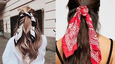 Bruna Ribeiro: CABELO: PENTEADOS COM LENÇOS Dreadlocks, Hair Styles, Beauty, Hairstyles With Scarves, Different Hairstyles, Horse Tail, Hair Type, Curly, Hair Down Hairstyles