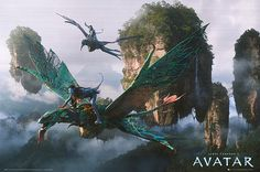 Discovering Pandora: World of Avatar. Fly through Pandora on a Banshee: Flight Of Passage Stephen Lang, Fantasy Creatures, Mythical Creatures, Narnia, Michelle Rodriguez, Avatar James Cameron, Disney Animal Kingdom, Avatar Poster, Avatar Movie