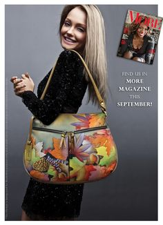 Find us in More magazine and get the bag now!!!
