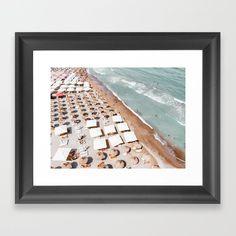 Framed Art Prints, Fine Art Prints, Large Frames, Summer Prints, Beach Print, Beach Photography, White Art, Coastal, Gallery Wall