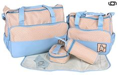 GARY&GHOST-0025A-Set 5 Kits Bolsa Maternal Cambiador a Ju...…