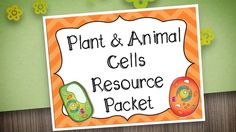 Animal and Plant Cell Unit is an engaging and hands on unit that can supplement activities to your science curriculum. Vocabulary development and cell function are keys in learning about plants and animal cells. Interactive journaling and comparing animal and plant cells will help students understand the key differences of cells.