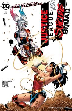 Justice League vs Suicide Squad #3   Variant cover by Amanda Conner & Laura Martin