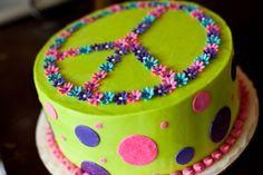 PEACE cake. soooo cute :)