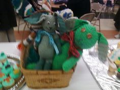 I made these bunnies for Easter Sunday! -Denise Walker