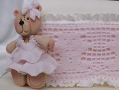 Our Small Teddy Mould and our Teddy Lace look gorgeous together as a border. Cute idea for a Christening cake or Birthday cake. http://www.karendaviescakes.co.uk/Moulds/?p=174_lace_border  http://www.karendaviescakes.co.uk/Moulds/?p=114