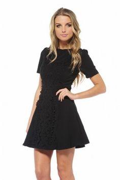 Crochet Front Dress shopmodmint.com