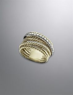 Large Crossover Ring | Women Rings | David Yurman Official Store