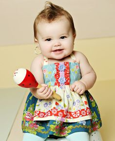 Can't stands the cuteness!  I WILL be remaking this Matilda Jane dress!