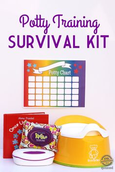 Thanks mom! Potty Training Survival Kit with Free Printable Potty Chart brought to you by Kandoo Crafts For Teens To Make, Diy For Kids, Diy And Crafts, Kids Crafts, Easy Crafts, Printable Potty Chart, Potty Training Boys, Sick Kids, Dollar Store Crafts