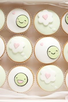 little pea cupcakes by hello naomi, via Flickr