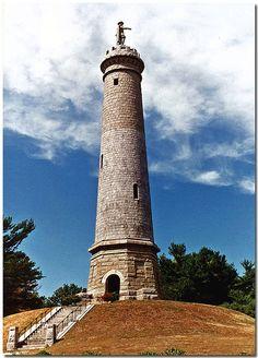 Myles Standish Monument, Duxbury