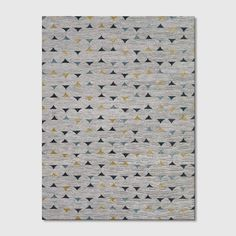 Color Block Rug - Project 62™ : Target Teal And Grey, Gray, Dark Wood Floors, Triangle Pattern, Rug Material, Grey Rugs, Rectangle Shape, Woven Rug, Cleaning Wipes