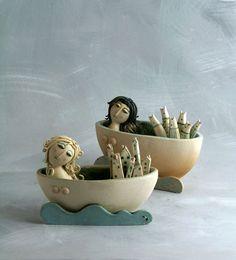 """""""Due Sirene / 2 Sirens """" Ceramiche sonore / Sonorous ceramics"""