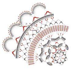 круглые салфетки крючком - фото (5)