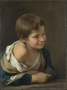 Murillo: Niño riendo asomado a la ventana (ca. 1675) National Gallery Londres.