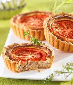Recette de Tarte au thon et à la tomate