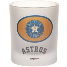 Houston Astros 8.45oz. Father's Day Frosted Rocks Glass Houston Astros, Fathers Day, Shot Glass, Frost, Rocks, Mlb, Products, Stone, Batu