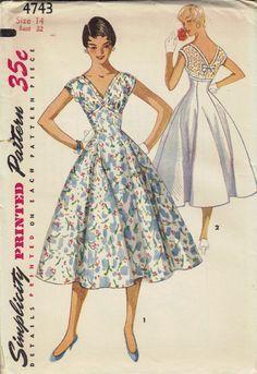 free swing dress pattern - Google Search