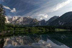 Laghi di Fusine (lago superiore)...